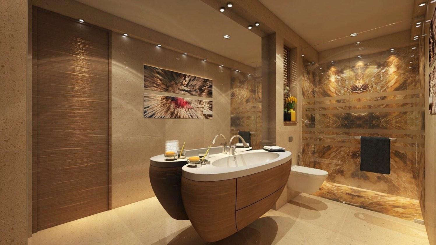 Artistic Bathroom With Walk In Shower by Anshuma Vaidya Bora Bathroom Modern | Interior Design Photos & Ideas