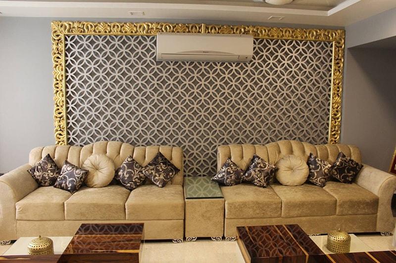 The Gold Rush by Esthetics Interior Living-room Modern   Interior Design Photos & Ideas