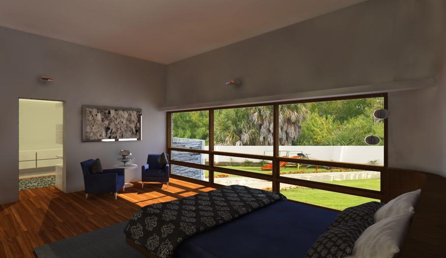 Bedroom  With Landscape View Windows by Aanoshka Choksi  Bedroom Modern | Interior Design Photos & Ideas