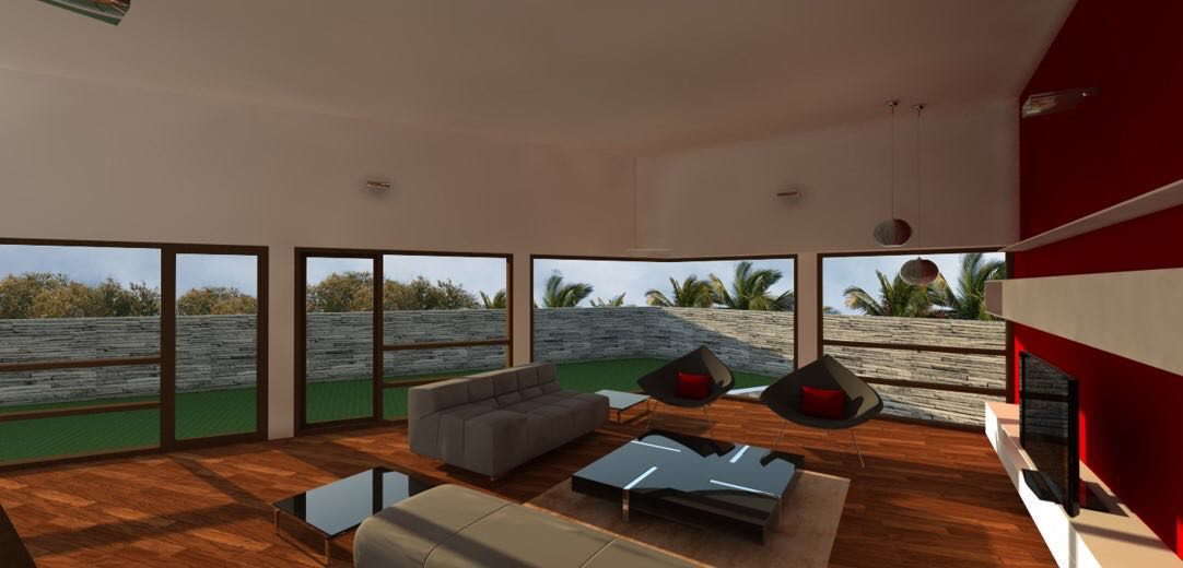 Large Living Room With Glass Finish Centre Table by Aanoshka Choksi  Living-room Modern   Interior Design Photos & Ideas