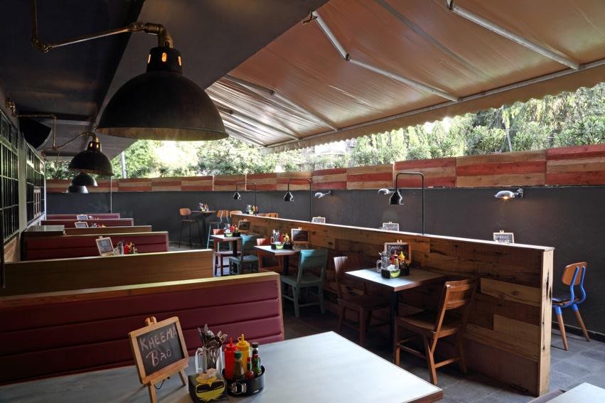 Outdoor Shaded Restaurant by Jatin Hukkeri Eclectic | Interior Design Photos & Ideas