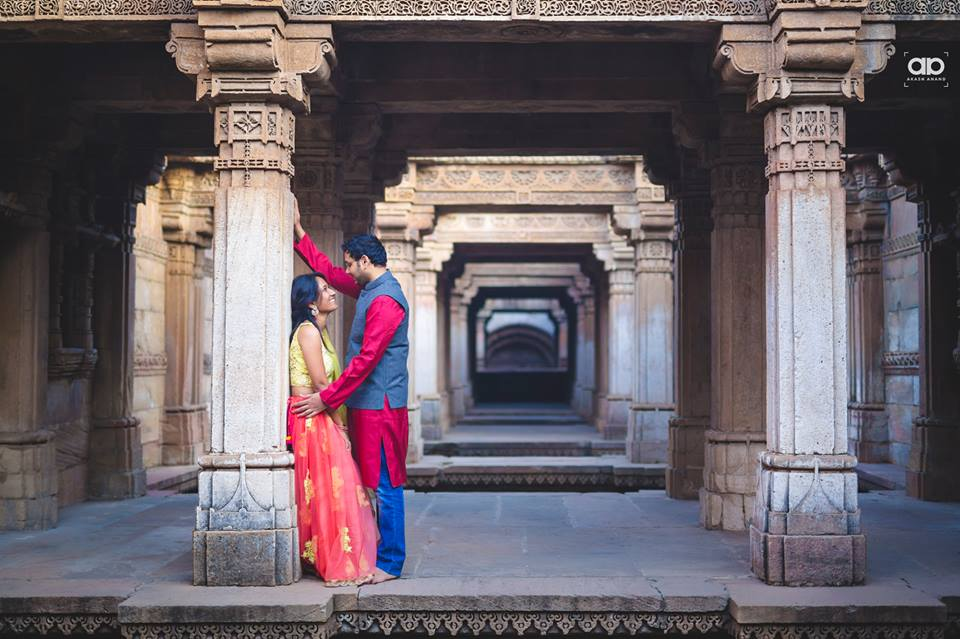 A stunning pre-wedding shot. by Akash Anand Photography  Wedding-photography | Weddings Photos & Ideas