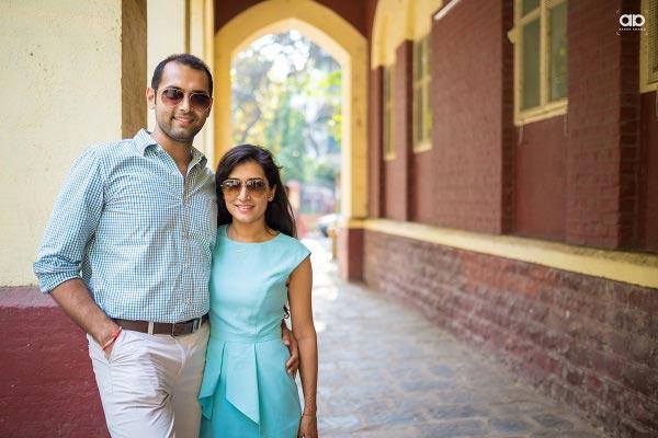 A vibrant couple on their pre-wedding shoot. by Akash Anand Photography  Wedding-photography | Weddings Photos & Ideas