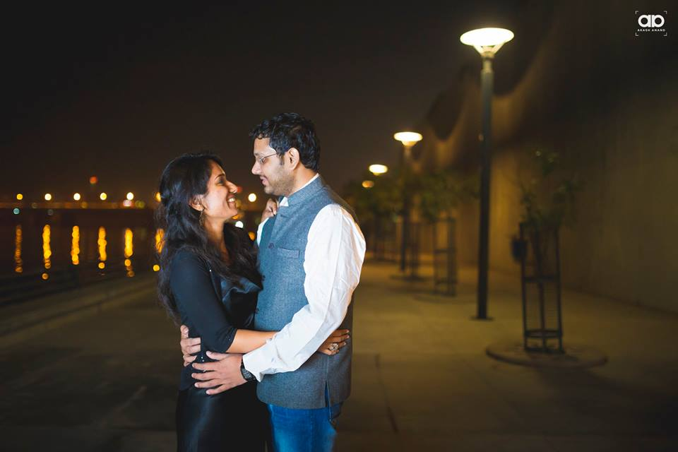 A beautiful couple on their  pre-wedding shoot. by Akash Anand Photography  Wedding-photography | Weddings Photos & Ideas