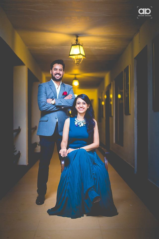 A regal duo on their pre-wedding shoot. by Akash Anand Photography  Wedding-photography | Weddings Photos & Ideas