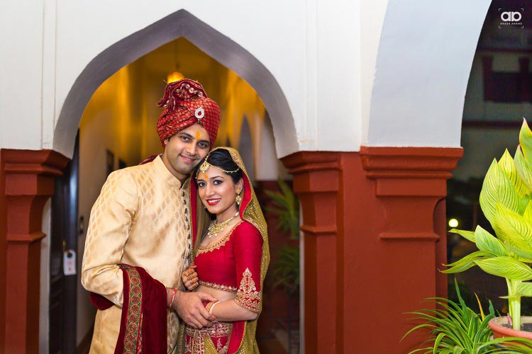 A royal duo on their D-day. by Akash Anand Photography  Wedding-photography | Weddings Photos & Ideas