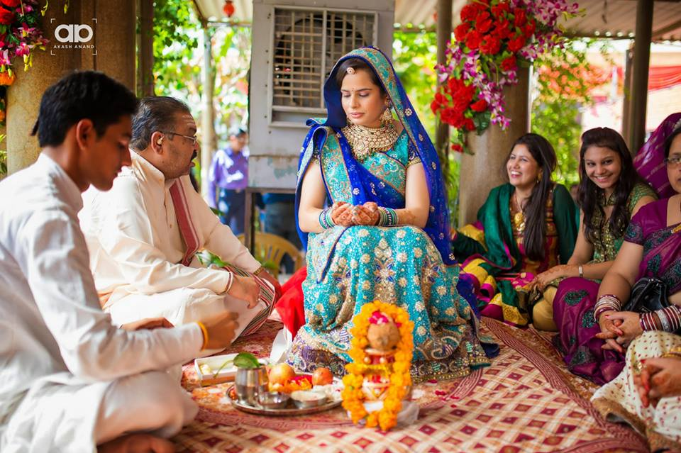 A wedding ritual taking place. by Akash Anand Photography  Wedding-photography | Weddings Photos & Ideas