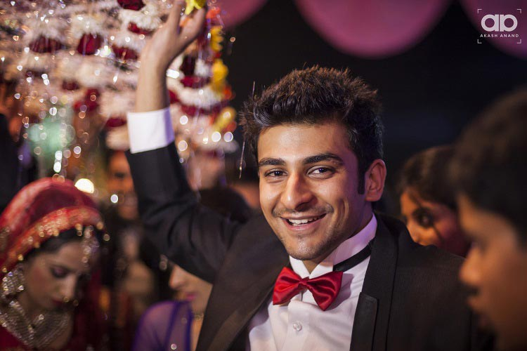 A dashing wedding guest. by Akash Anand Photography  Wedding-photography | Weddings Photos & Ideas