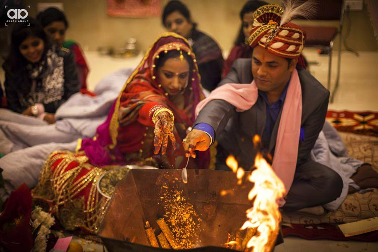 A wedding ritual . by Akash Anand Photography  Wedding-photography | Weddings Photos & Ideas