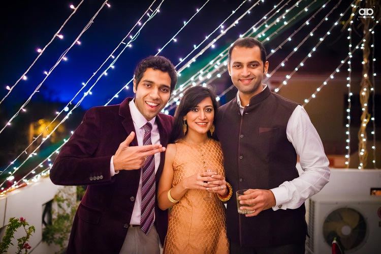 Wedding guest with the couple. by Akash Anand Photography  Wedding-photography | Weddings Photos & Ideas