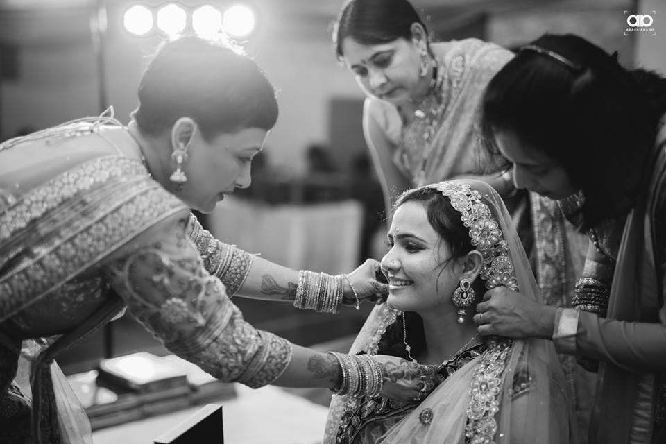A happy bride-to-be. by Akash Anand Photography  Wedding-photography | Weddings Photos & Ideas
