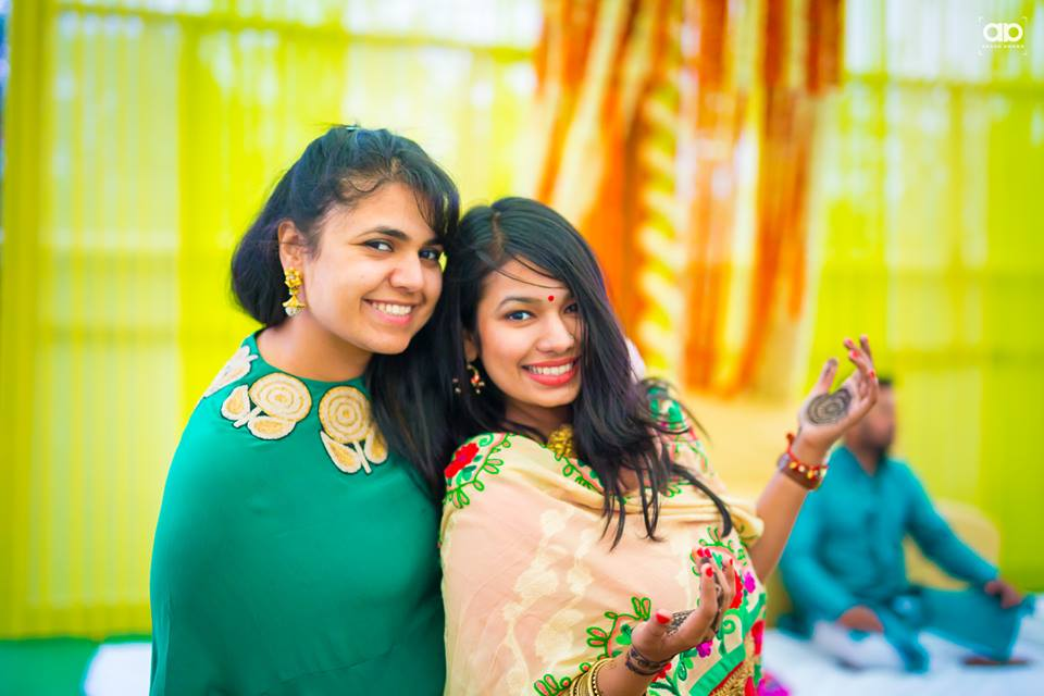 Wedding guest on mehendi. by Akash Anand Photography  Wedding-photography | Weddings Photos & Ideas