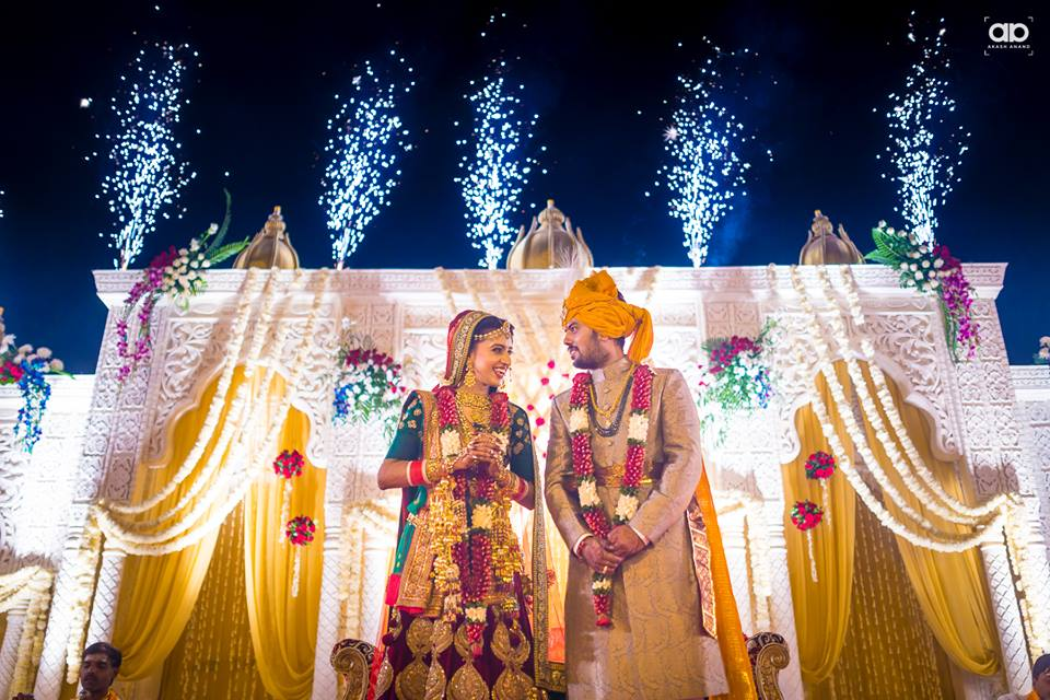 A dreamy duo on their wedding day. by Akash Anand Photography  Wedding-photography | Weddings Photos & Ideas