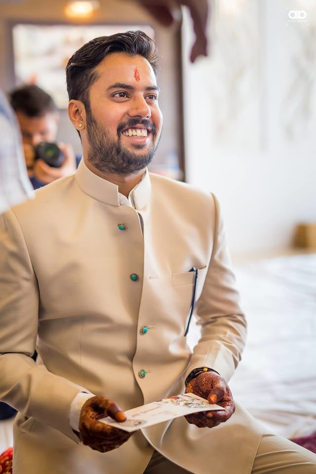 Dashing groom on his wedding day. by Akash Anand Photography  Wedding-photography Groom-wear-and-accessories | Weddings Photos & Ideas