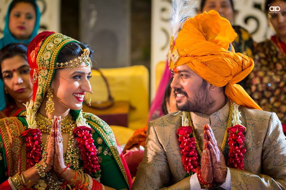 A perfect couple portrait. by Akash Anand Photography  Wedding-photography Groom-wear-and-accessories | Weddings Photos & Ideas