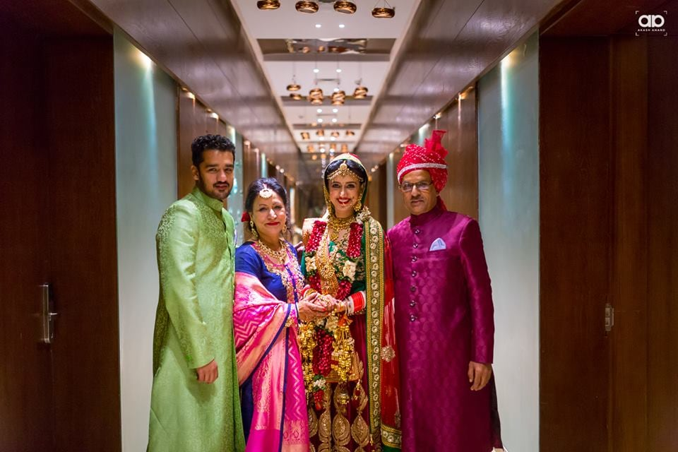 A beautiful family portrait. by Akash Anand Photography  Wedding-photography | Weddings Photos & Ideas