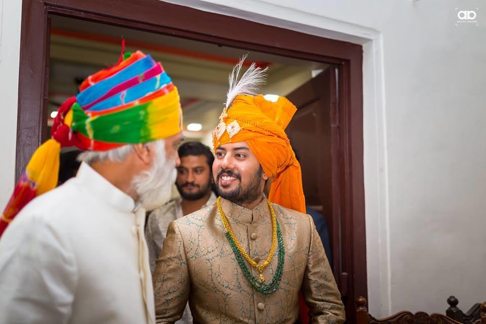 A royal groom on his wedding day. by Akash Anand Photography  Wedding-photography Groom-wear-and-accessories | Weddings Photos & Ideas