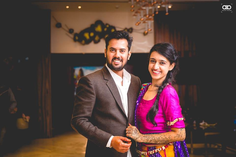 A stunning couple portrait. by Akash Anand Photography  Wedding-photography Wedding-hairstyles | Weddings Photos & Ideas