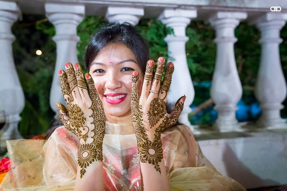 Beautiful Pakistani Mehendi Design. by Akash Anand Photography  Wedding-photography | Weddings Photos & Ideas