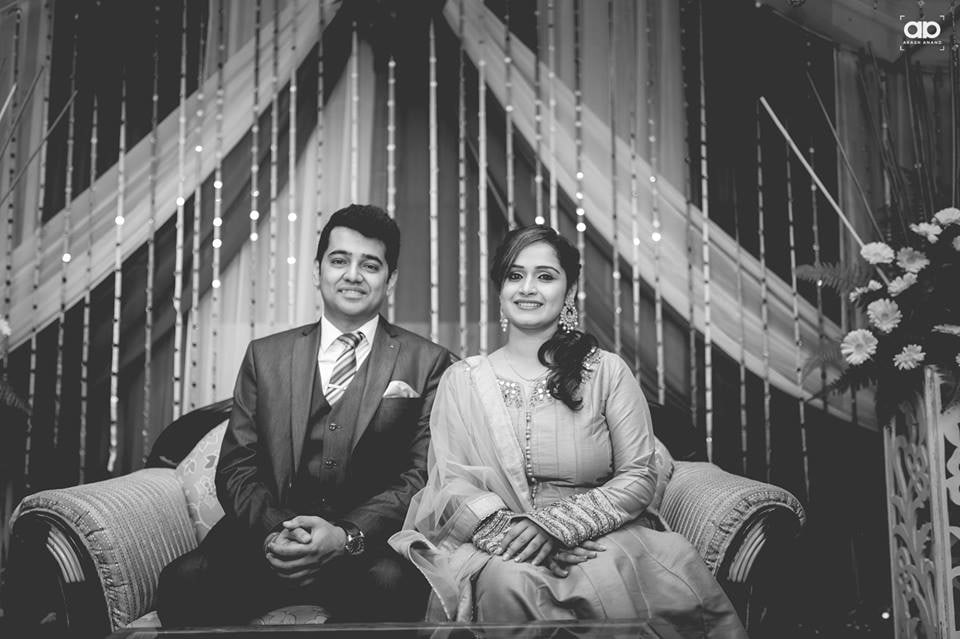 Black and White couple portrait. by Akash Anand Photography  Wedding-photography | Weddings Photos & Ideas