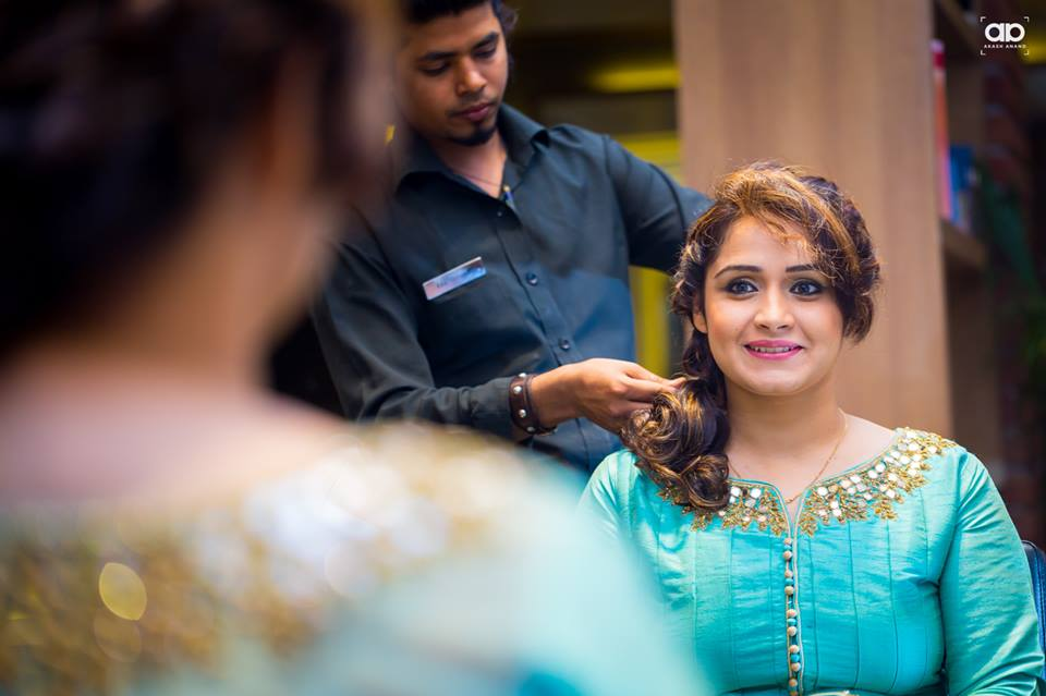 The bride-to-be getting ready. by Akash Anand Photography  Wedding-photography | Weddings Photos & Ideas