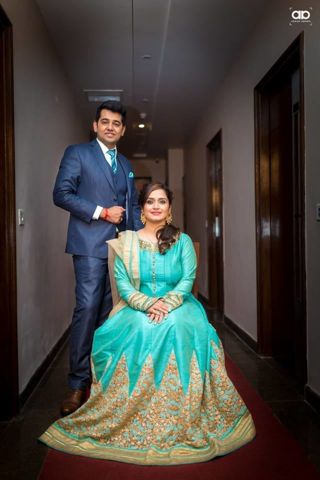 A royal duo. by Akash Anand Photography  Wedding-photography Wedding-dresses Groom-wear-and-accessories | Weddings Photos & Ideas