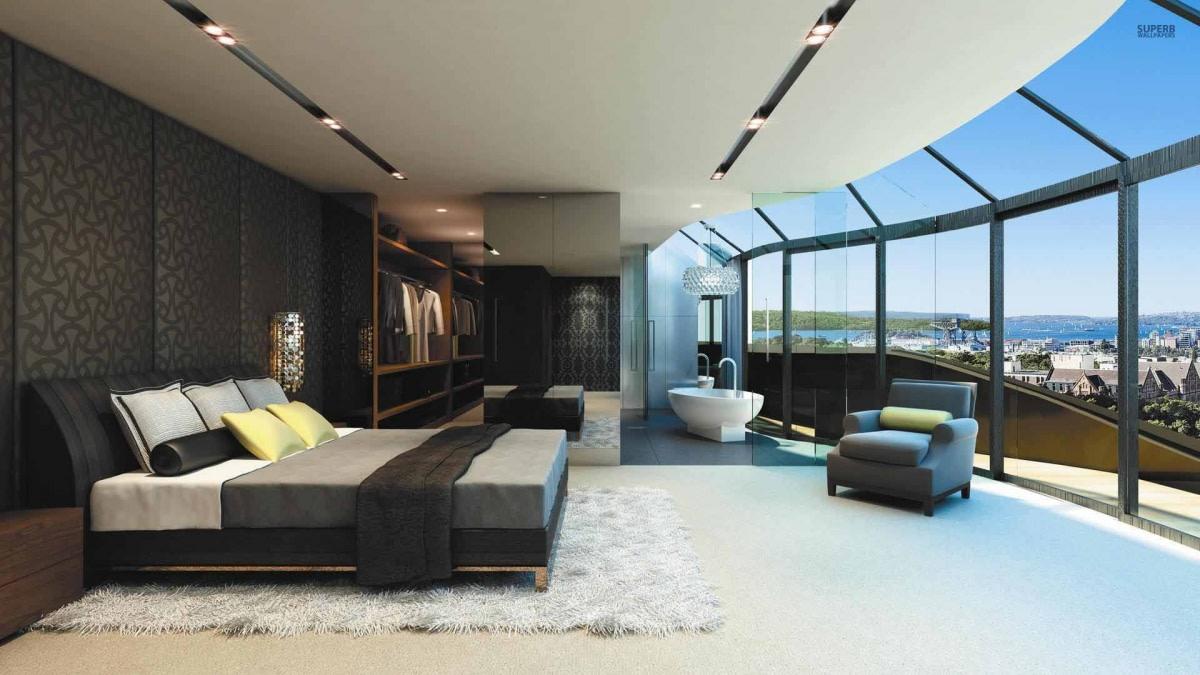 Luxurious bedroom design by Hemant Sahni Bedroom Modern | Interior Design Photos & Ideas