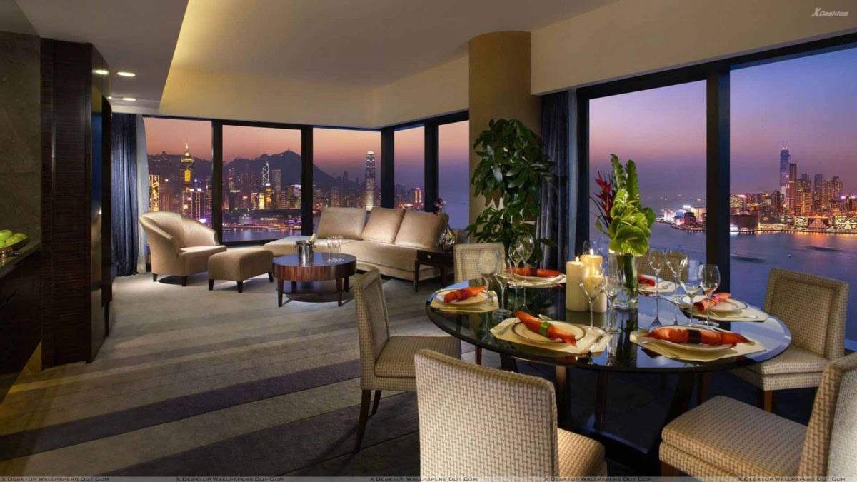 Deluxe dining area by Hemant Sahni Dining-room Contemporary | Interior Design Photos & Ideas
