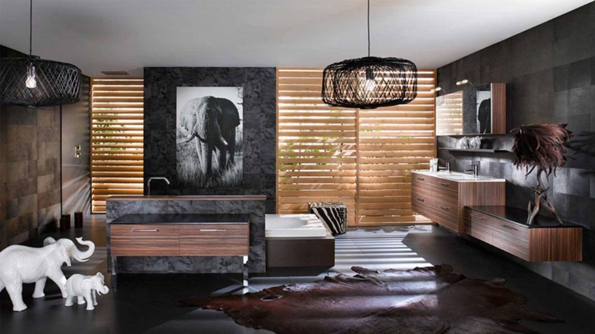 Luxurious bathroom interiors by Hemant Sahni Bathroom Contemporary | Interior Design Photos & Ideas