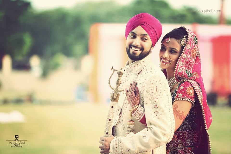 A Stellar Couple Shot On Their Wedding. by Vinny Virdi Photography Wedding-photography Groom-wear-and-accessories | Weddings Photos & Ideas