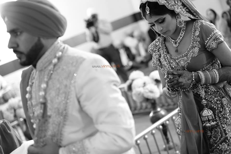 A Candid Moment In The Wedding. by Vinny Virdi Photography Wedding-photography Wedding-dresses Bridal-jewellery-and-accessories | Weddings Photos & Ideas