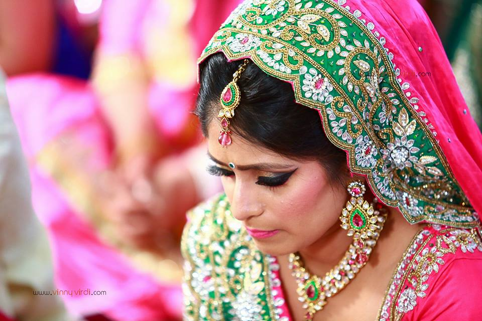 A Stunning Bridal Shot. by Vinny Virdi Photography Wedding-photography Bridal-jewellery-and-accessories | Weddings Photos & Ideas