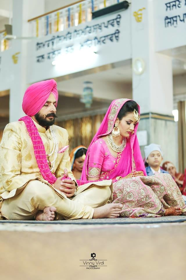 A Beautiful Couple On their Wedding Day. by Vinny Virdi Photography Wedding-photography Bridal-jewellery-and-accessories Groom-wear-and-accessories | Weddings Photos & Ideas