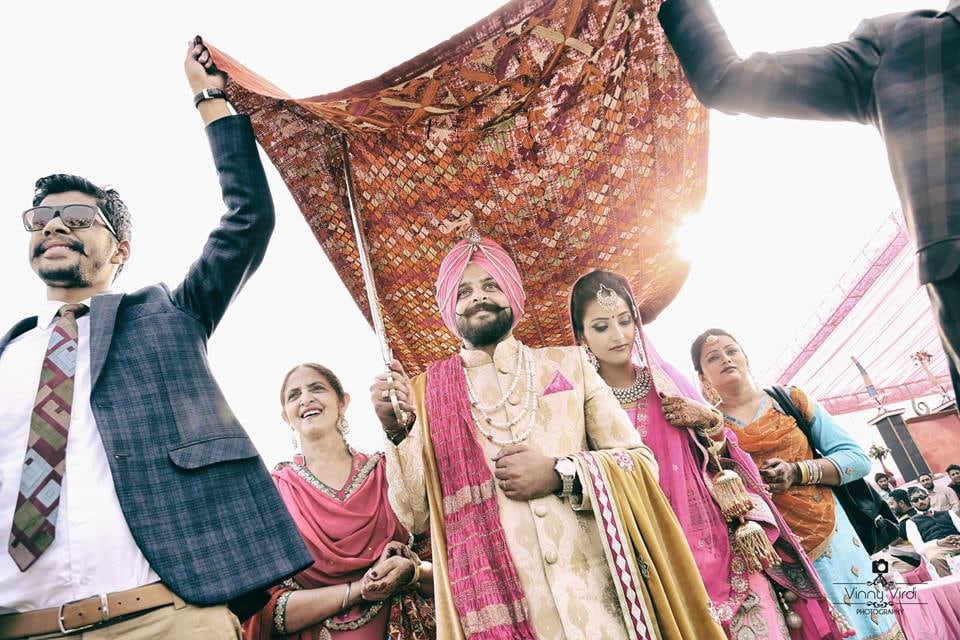 A Royal Entry Of The Couple. by Vinny Virdi Photography Wedding-photography | Weddings Photos & Ideas