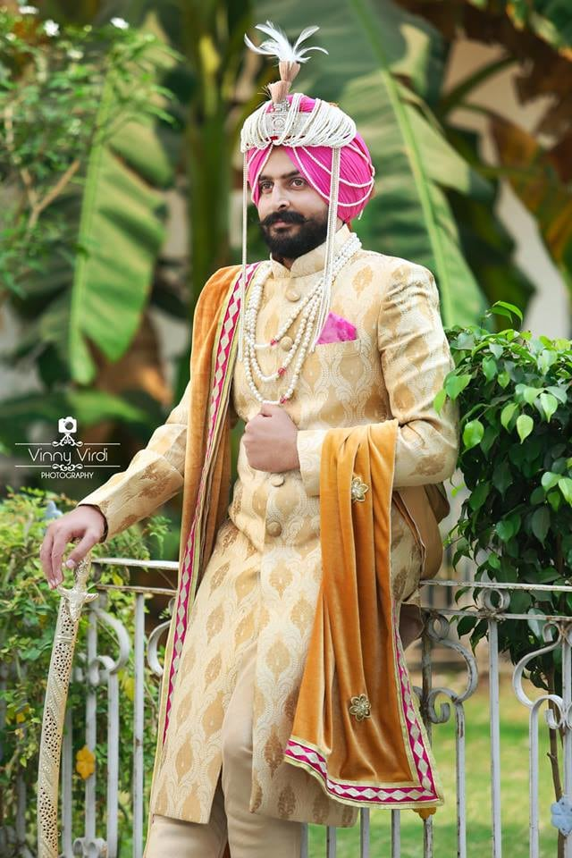 A Royal Groom On His Wedding Day. by Vinny Virdi Photography Groom-wear-and-accessories | Weddings Photos & Ideas
