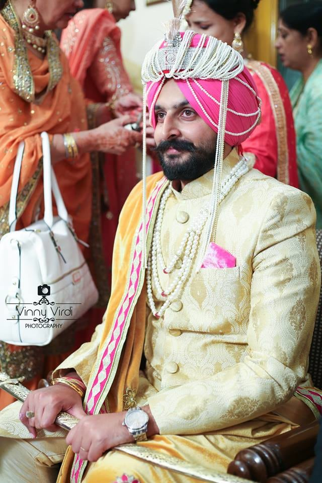 A Vibrant Groom On His Wedding Day by Vinny Virdi Photography Wedding-photography Groom-wear-and-accessories | Weddings Photos & Ideas