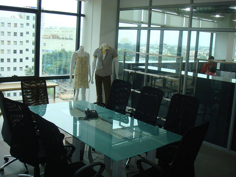 Superior Meeting Room With Glass Work by Jerry Meshach J Modern | Interior Design Photos & Ideas