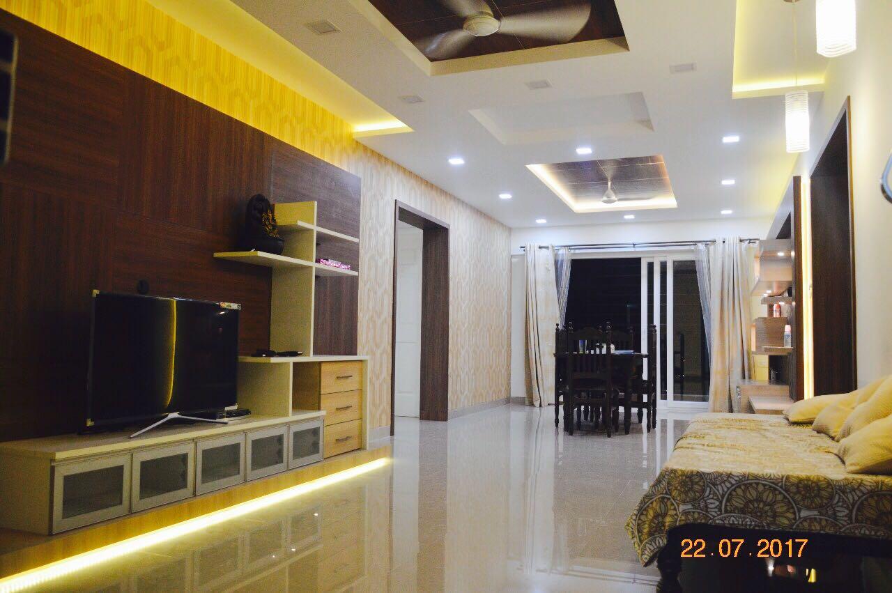 Minimalist Hallway With Textured Wall by Jerry Meshach J Indoor-spaces Modern | Interior Design Photos & Ideas