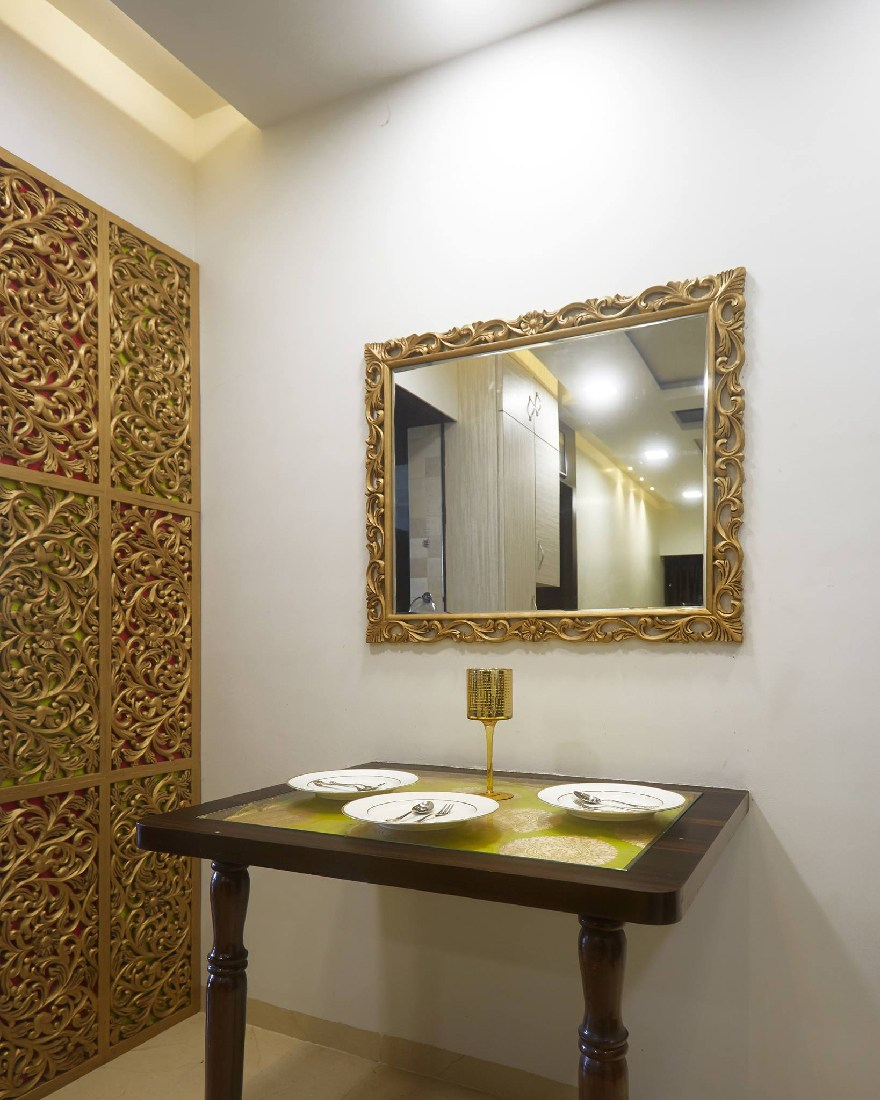 Golden Hues By Namah Design Studio