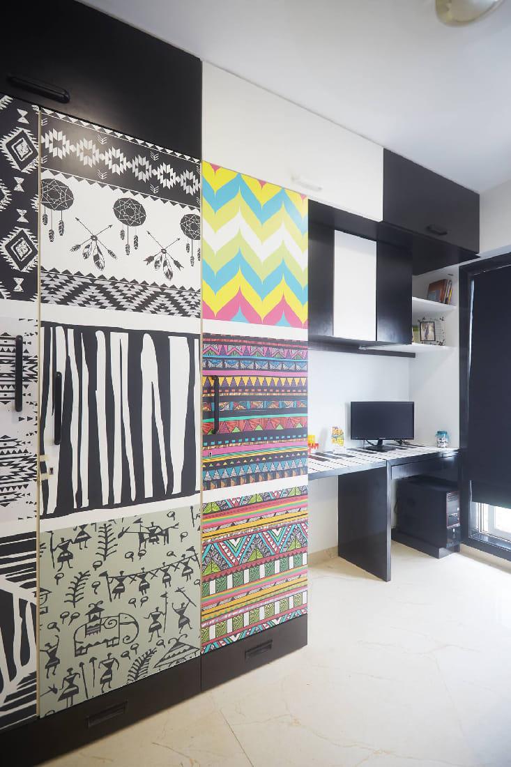 Aztec Style Study Room by Namah Design Studio