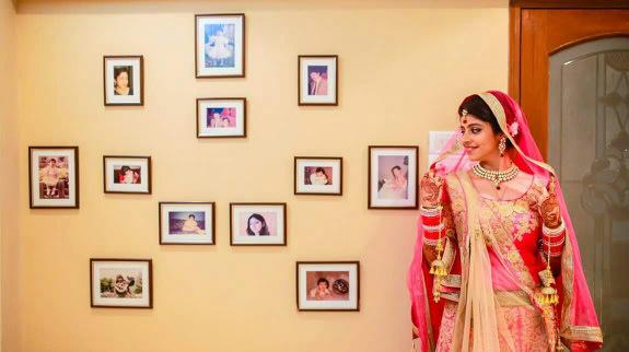 Bride wearing pink lehenga by Bunker Bowy Photography Wedding-photography | Weddings Photos & Ideas