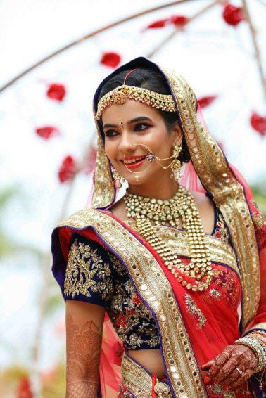 Bride wearing kundan accessories! by Bunker Bowy Photography Wedding-photography | Weddings Photos & Ideas
