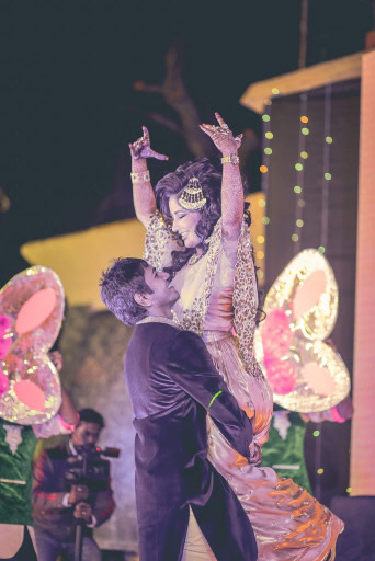 Sangeet ! by Bunker Bowy Photography Wedding-photography   Weddings Photos & Ideas