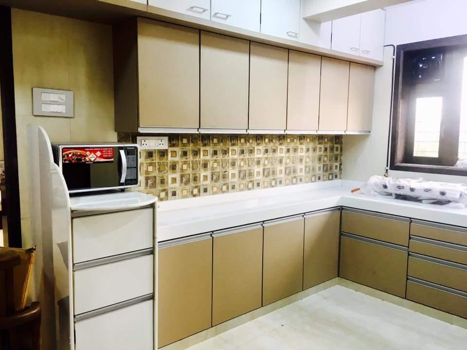 Modern Modular Kitchen Design By Veer Interior
