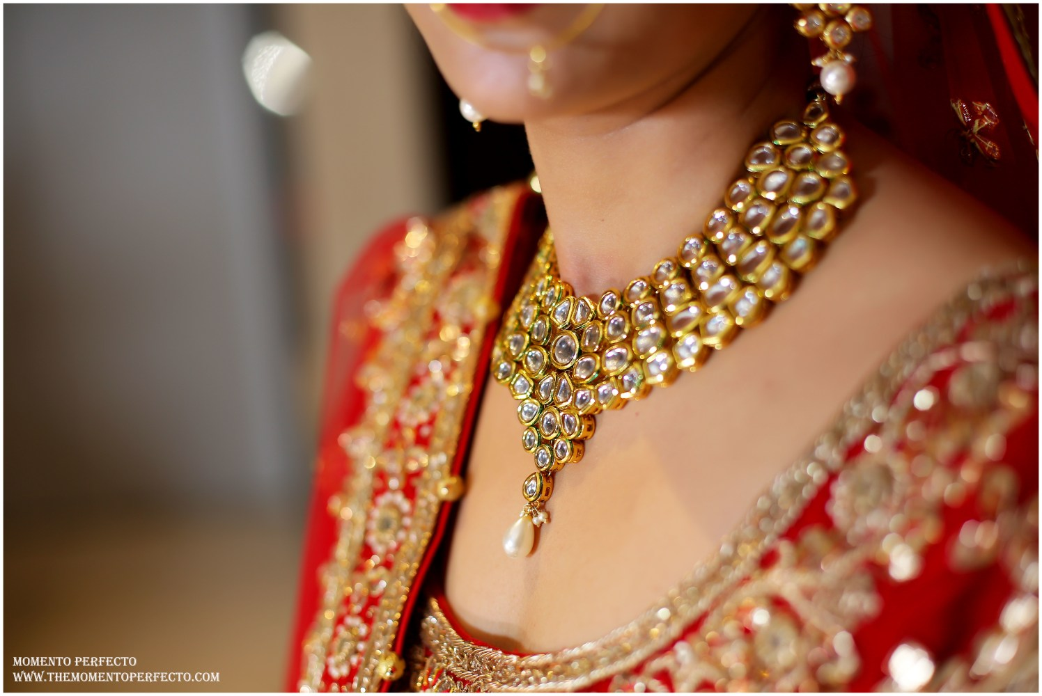 Elegant Kundan Necklace Made With Splendid Precision by Preeti Sharma Wedding-photography Bridal-jewellery-and-accessories | Weddings Photos & Ideas