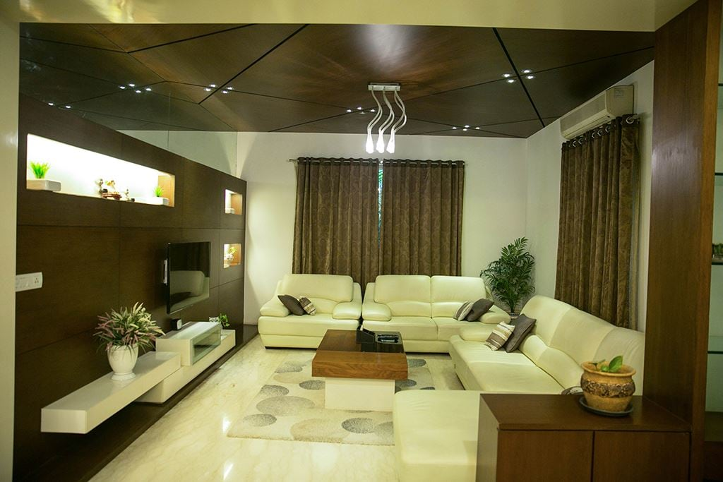 Elegant Living Room by DesignStory Living-room Contemporary | Interior Design Photos & Ideas