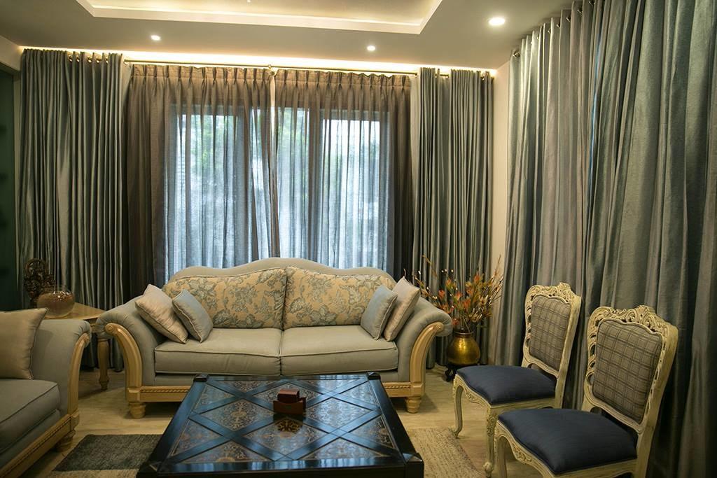 Royal Living Room by DesignStory Living-room Contemporary   Interior Design Photos & Ideas