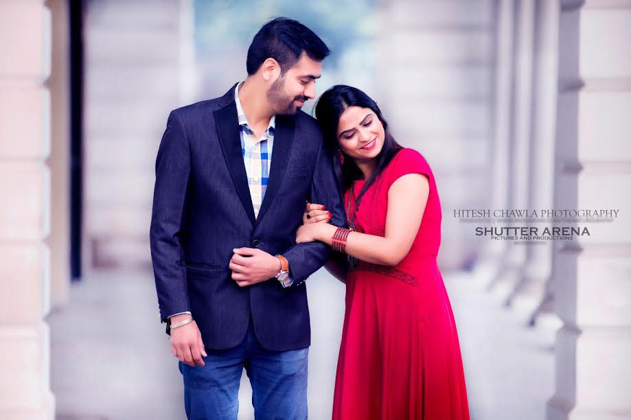 Pretty couple by SHUTTER ARENA Wedding-photography | Weddings Photos & Ideas