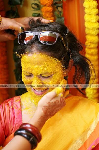 Haldi embedded by SHUTTER ARENA Wedding-photography | Weddings Photos & Ideas