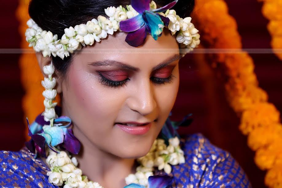 Blushing bride by SHUTTER ARENA Wedding-photography Bridal-makeup | Weddings Photos & Ideas